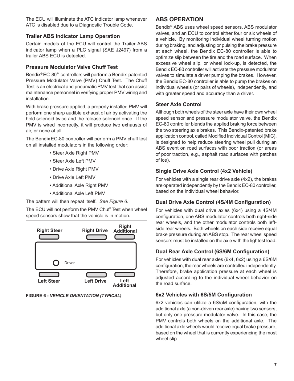 Bendix Commercial Vehicle Systems EC-80 ABS ATC SD User Manual | Page 7 /