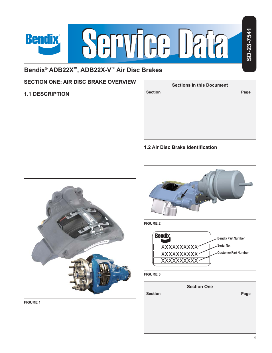 Bendix commercial vehicle systems adb v air disc brakes