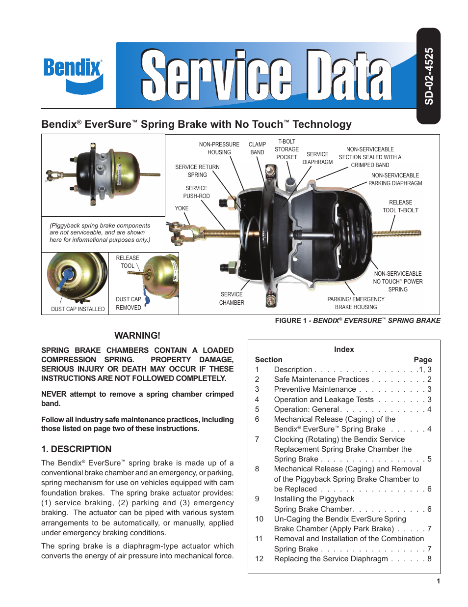 Bendix commercial vehicle systems eversure spring brake