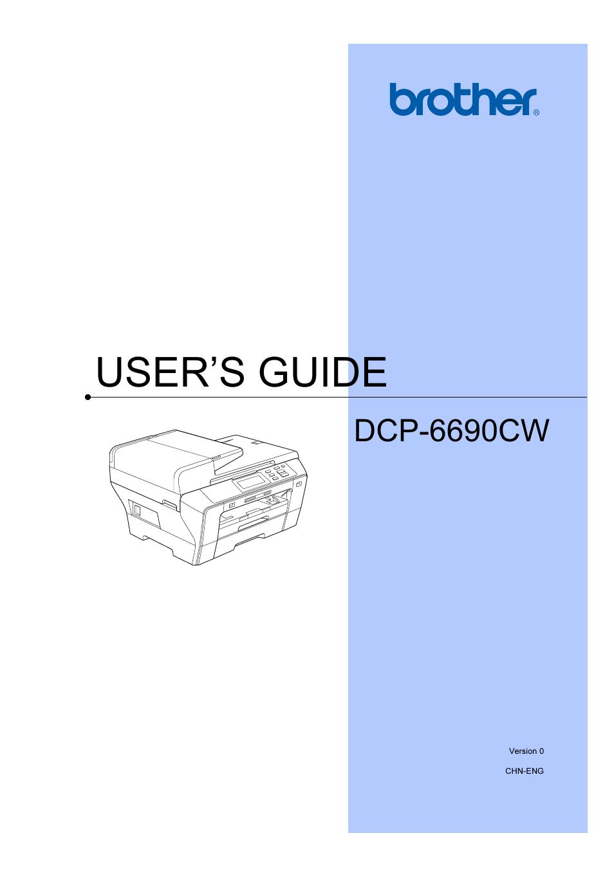 brother dcp 6690cw user manual 134 pages rh manualsdir com Viking 6690 Sewing Machine Viking Husqvarna 6690