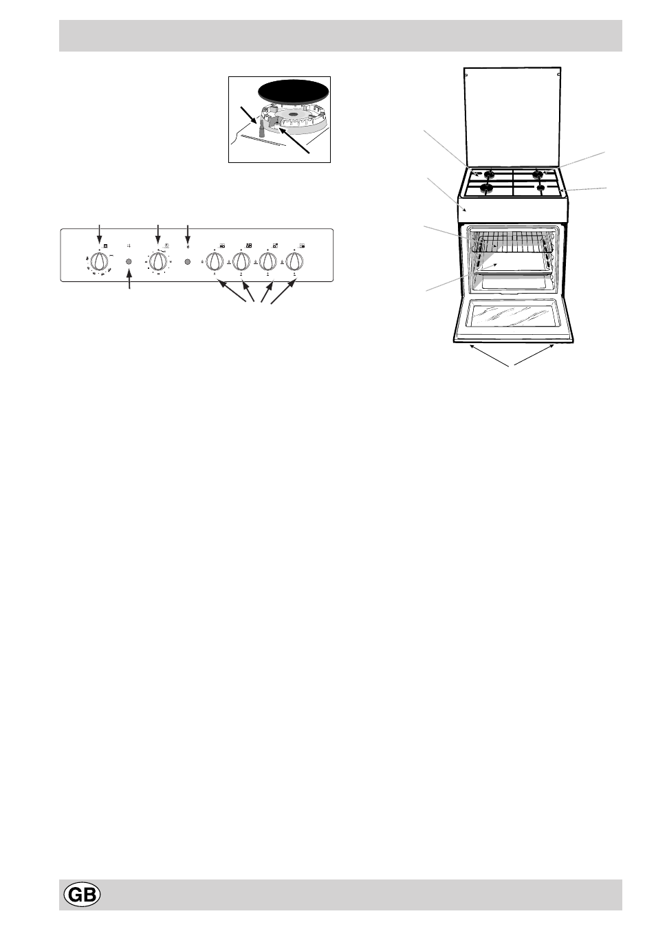 Indesit Gas Range Oven Manual Rsoftapps Hard Wiring Zsi Along With Bosch Microwave Ovens The Cooker And Grill K6g21s R User