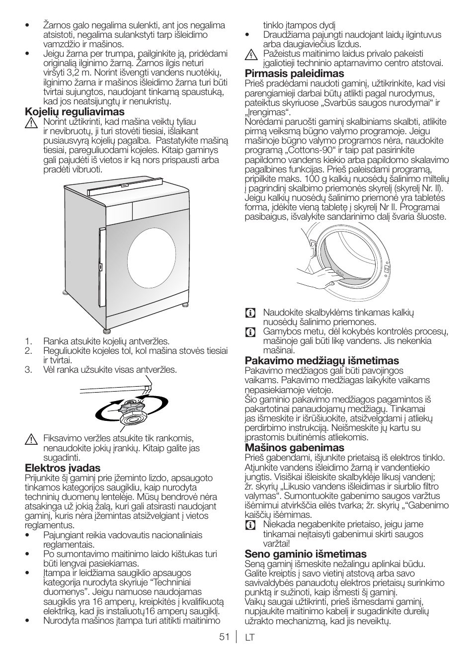 Blomberg WNF 5180 WE User Manual   Page 51 / 62