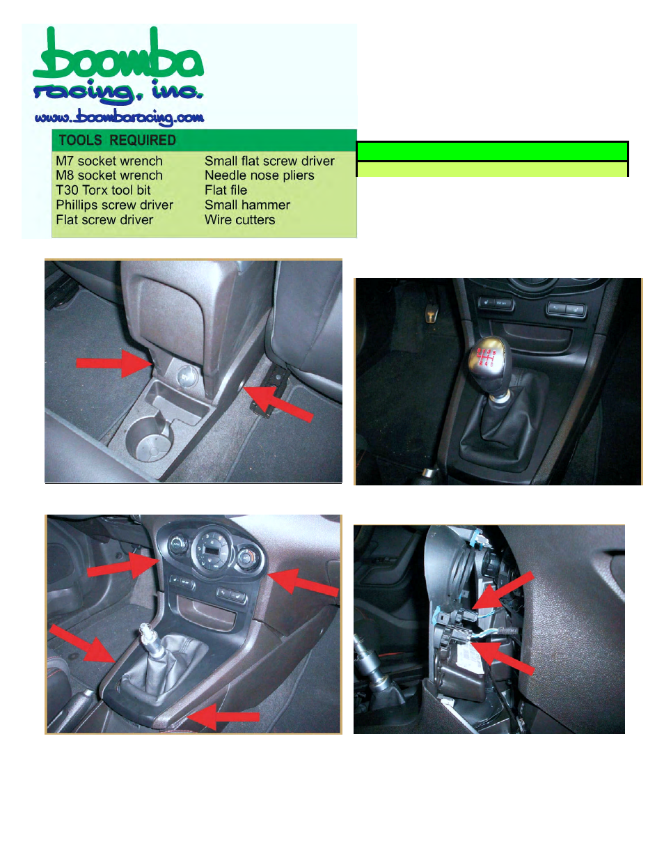 Fiesta St Forum >> Boomba Racing Ford Fiesta St Short Throw Shifter Thanks To