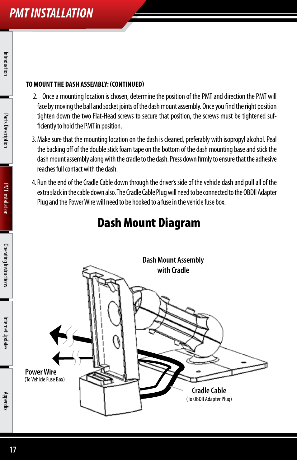 Pmt Installation Dash Mount Diagram Assembly With Fuse Box Cartoon Cradle Cable Bully Dog 40300 Advanced Vehicle Downloader Controller
