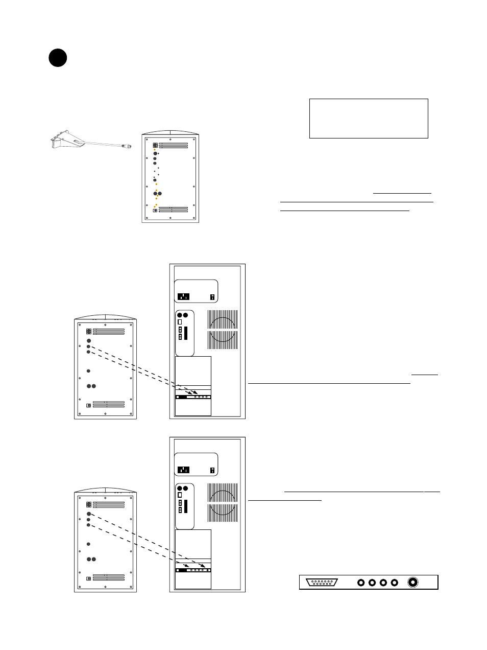 input panel connections boston acoustics ba7500 user manual page rh manualsdir com