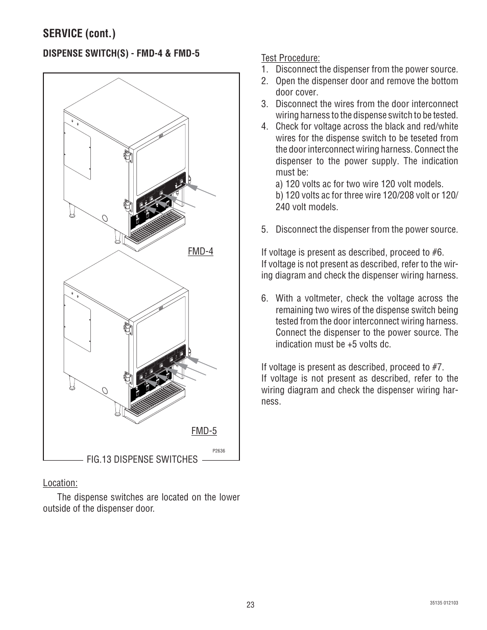 Bunn Switch Wiring Diagram Library Single Fmd 5 User Manual Page 23 45
