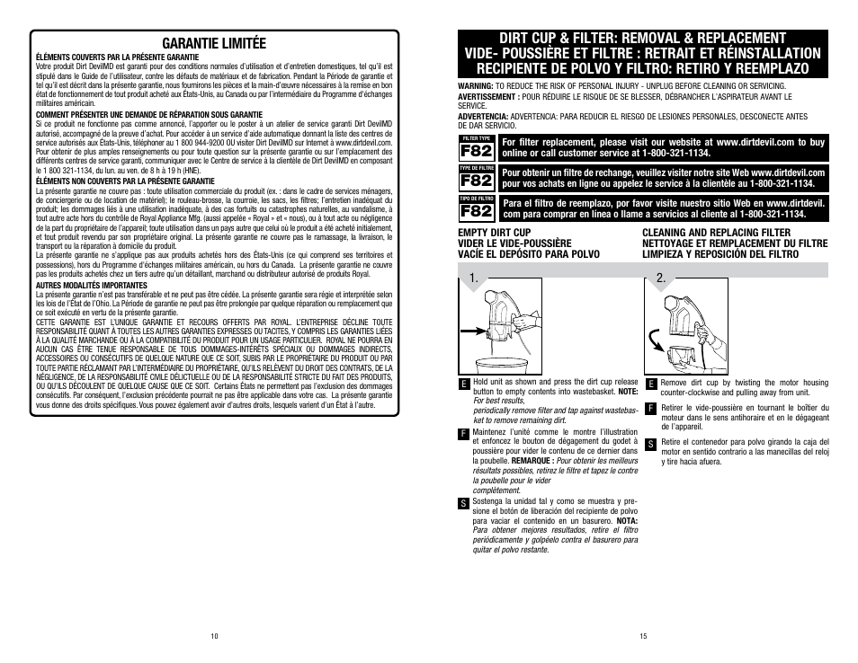 dirt devil user manual how to and user guide instructions u2022 rh taxibermuda co Dirt Devil Bagless Canister Vacuum Dirt Devil SD40010 Review