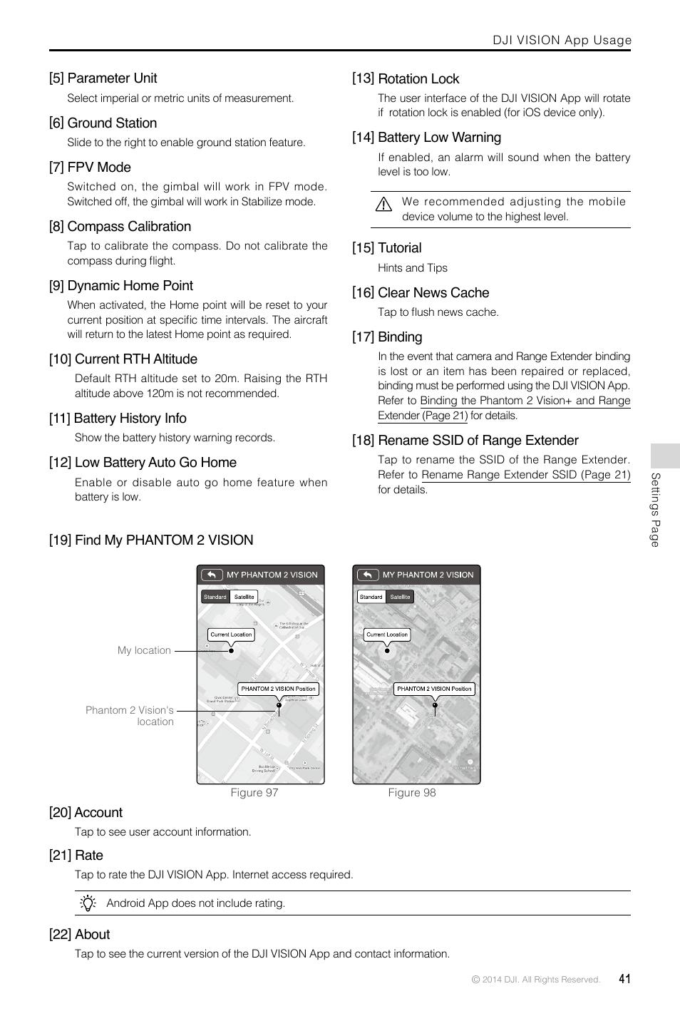dji phantom 2 vision plus user manual user manual page. Black Bedroom Furniture Sets. Home Design Ideas
