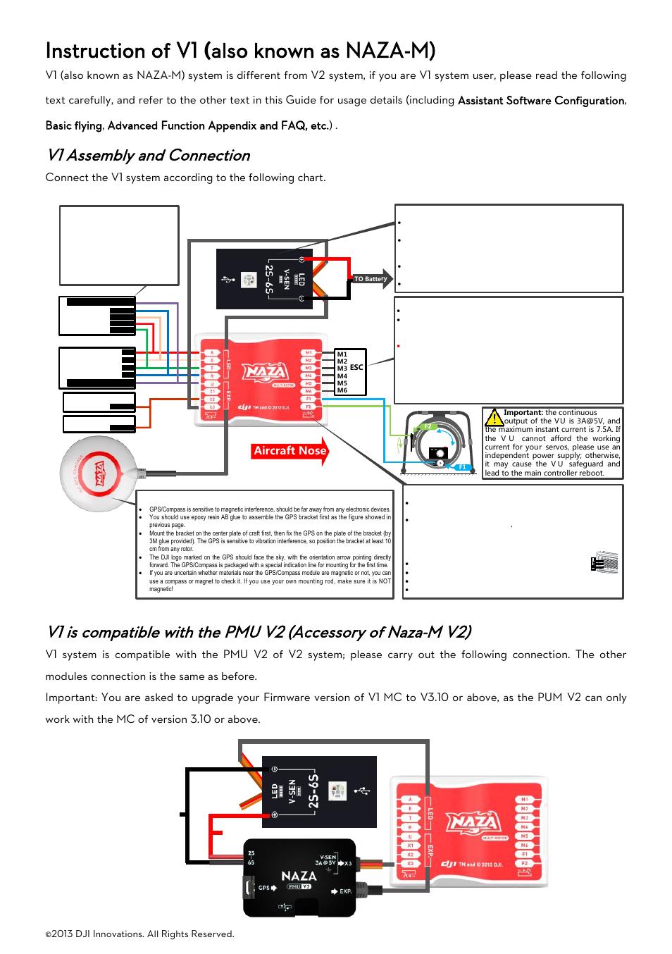 Naza Esc Wiring - Circuit Connection Diagram •