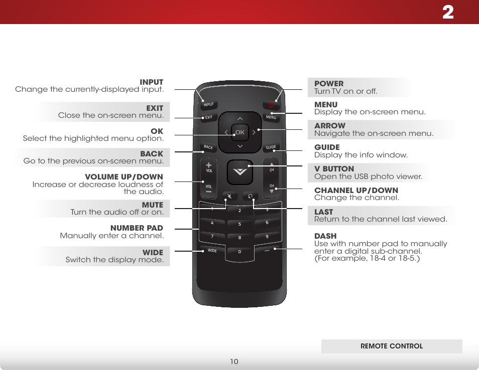 remote control vizio e231 b1 user manual user manual page 16 rh manualsdir com Vizio Remote Manual Vizio Remote Manual