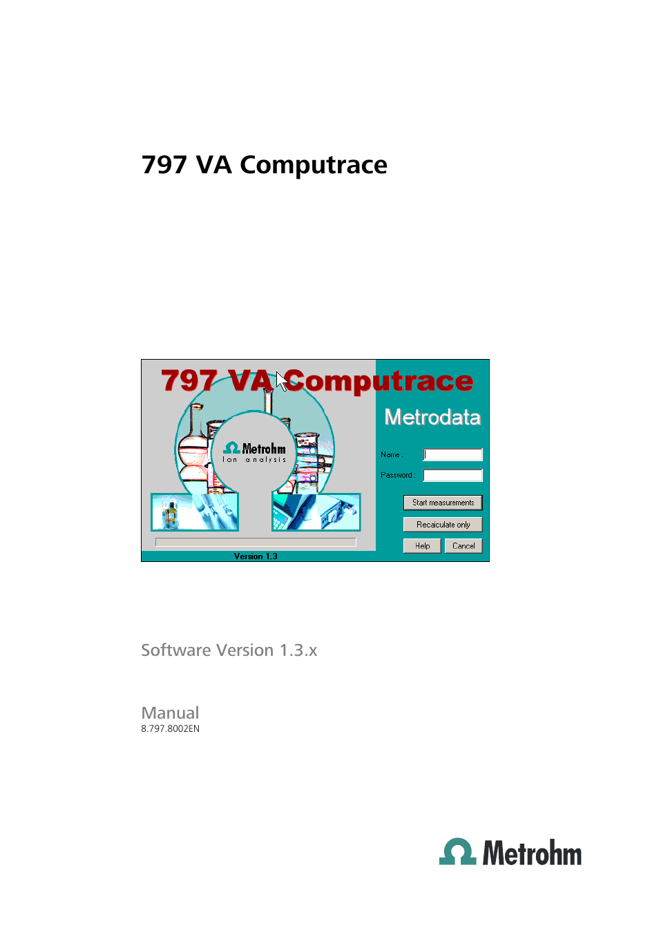 metrohm 797 va computrace user manual 295 pages
