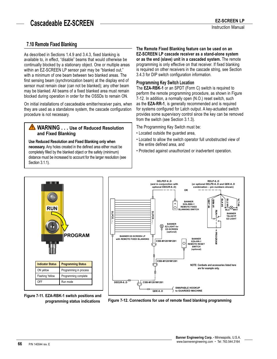 overview, cascadeable ez-screen, warning | banner ez ... laptop screen wiring diagram banner ez screen wiring diagram
