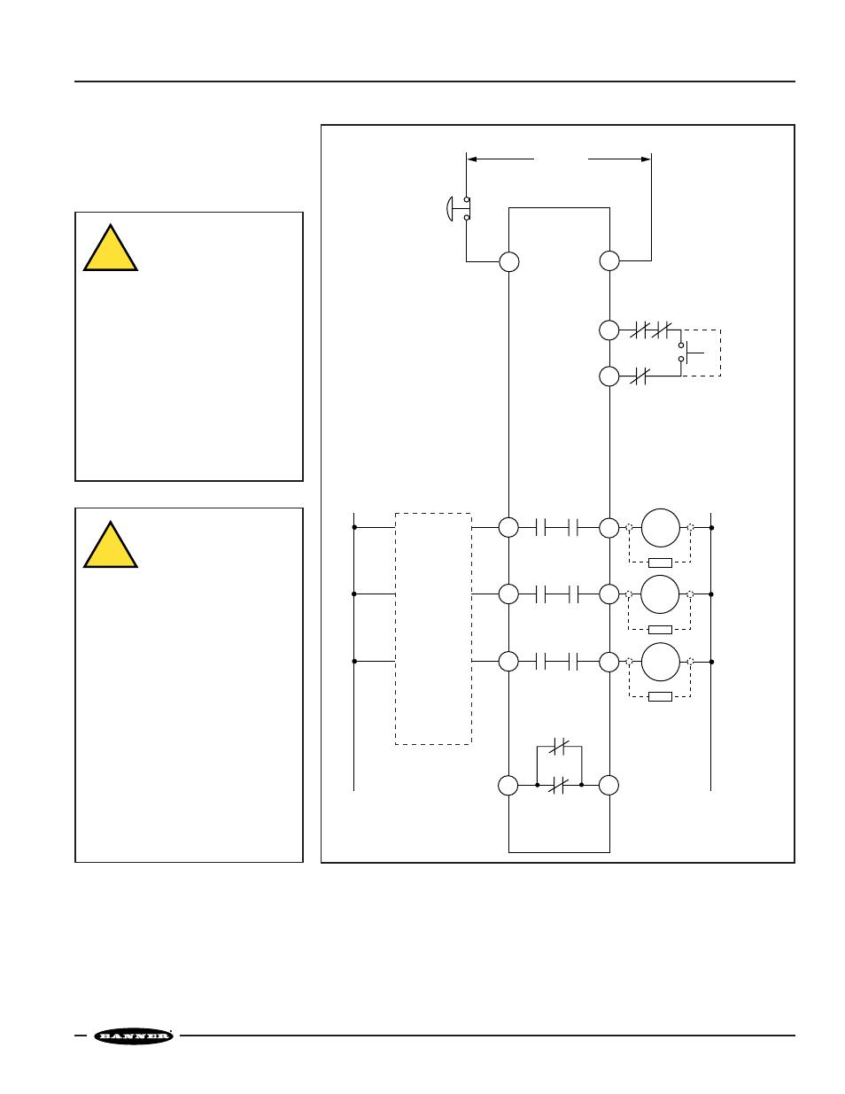 e stop safety module model es fa 6g warning banner es. Black Bedroom Furniture Sets. Home Design Ideas