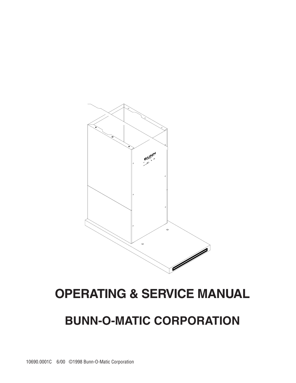 Bunn cw-aps operating & service manual pdf download.