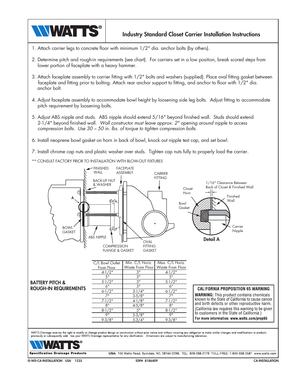 Watts Isca 560 User Manual 1 Page Also For Isca 550