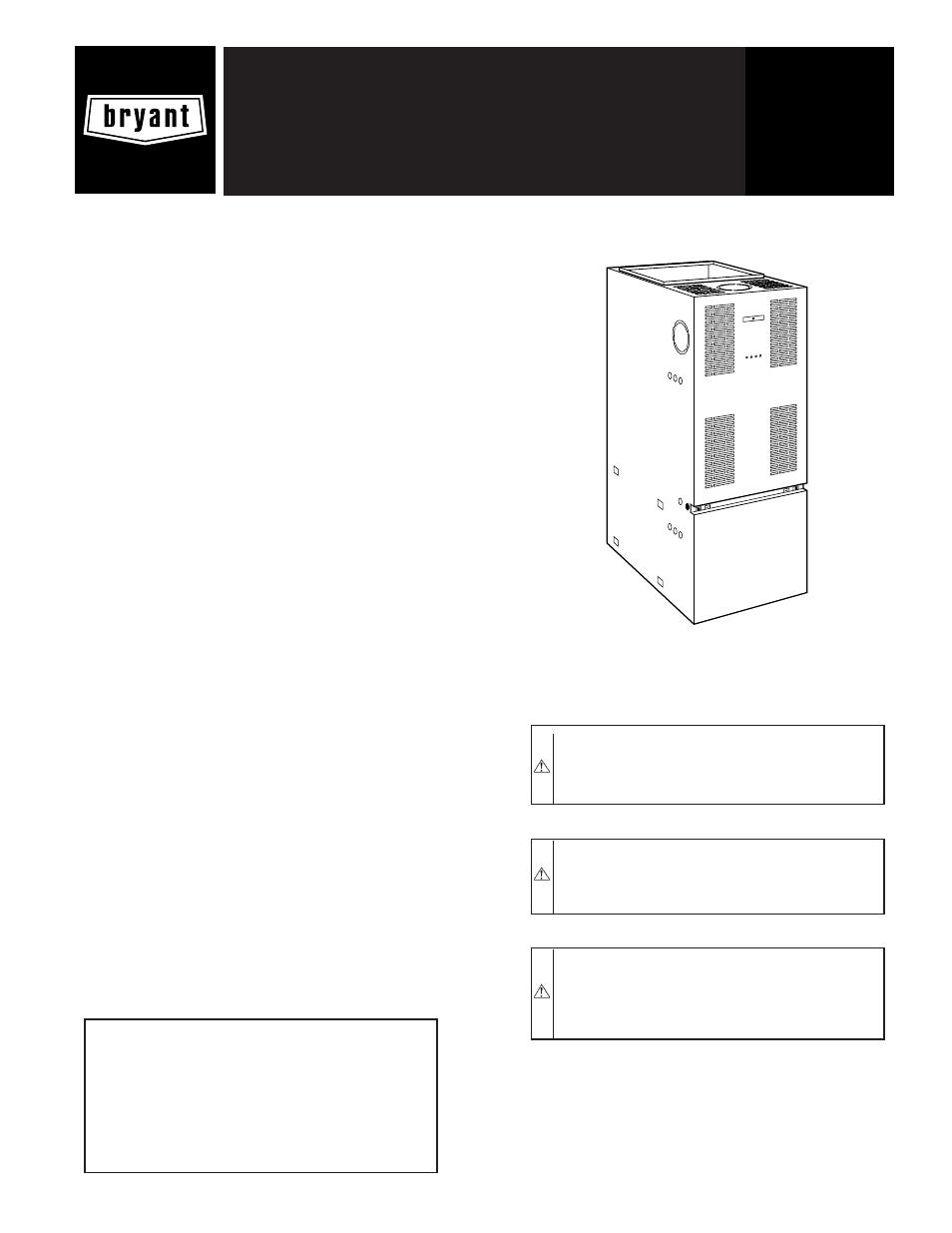 bryant multipurpose oil 369aan user manual 12 pages rh manualsdir com american standard furnace manual american standard silver series furnace installation manual