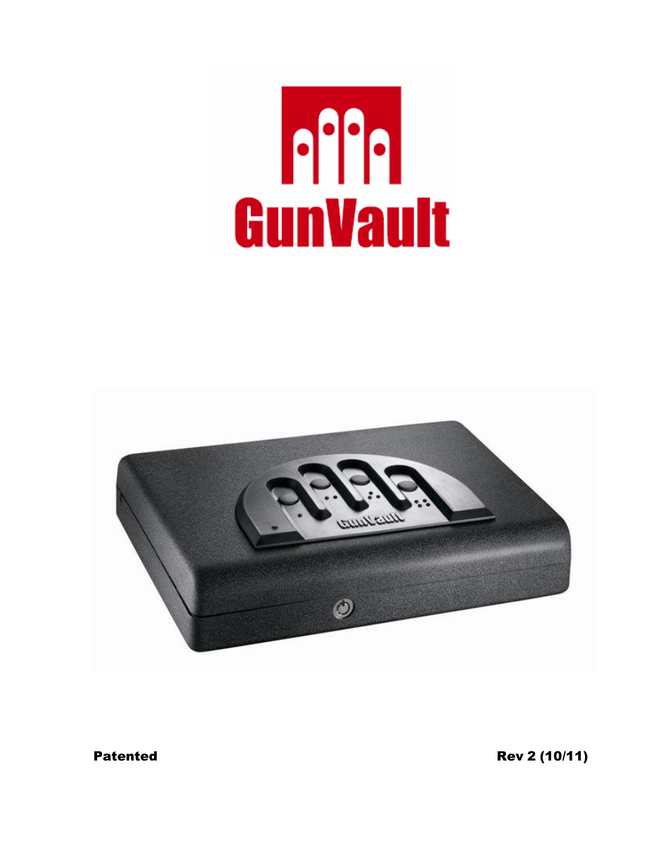 gunvault mv 500 user manual 8 pages rh manualsdir com  GunVault Pistol Safe