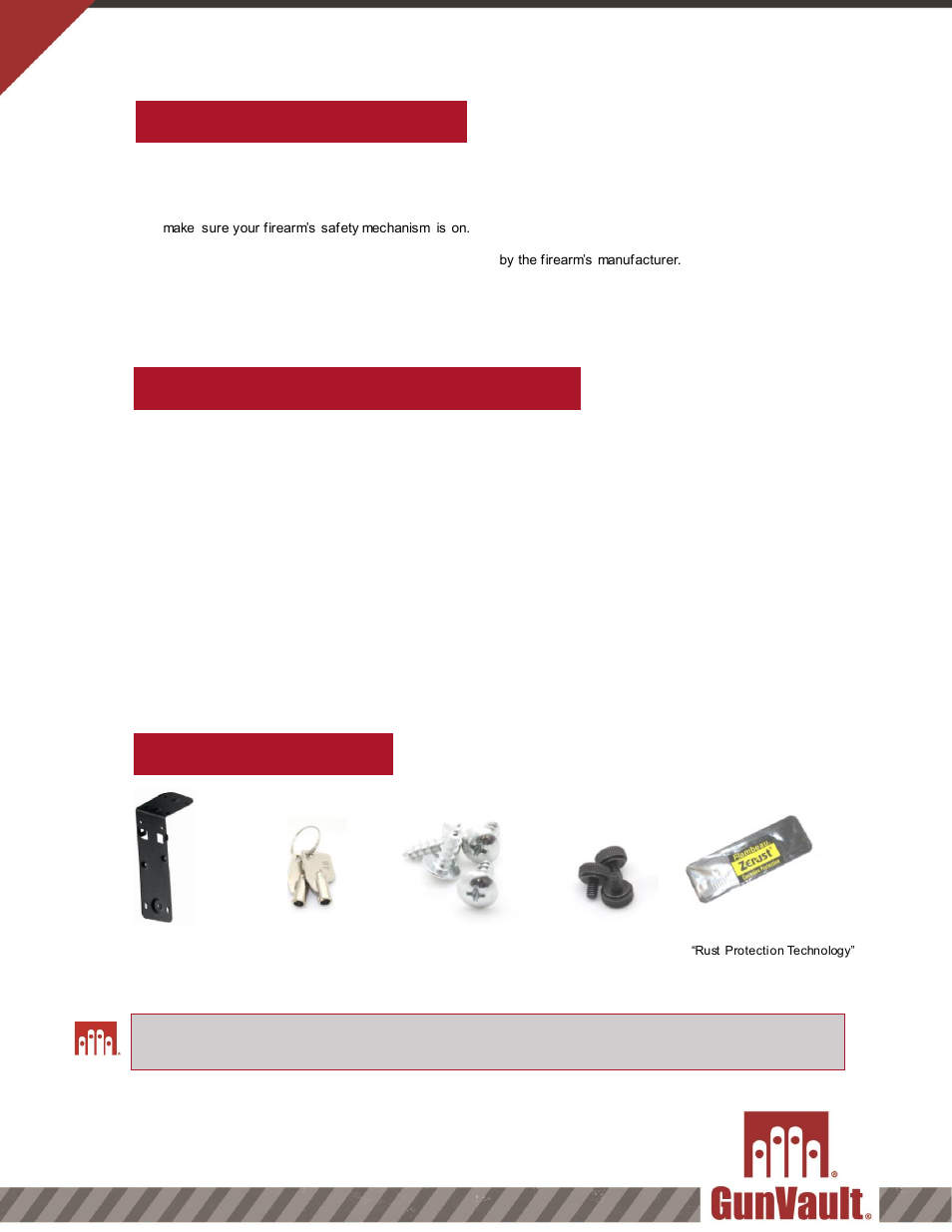 gun vault user manual free owners manual u2022 rh wordworksbysea com Example User Guide Clip Art User Guide