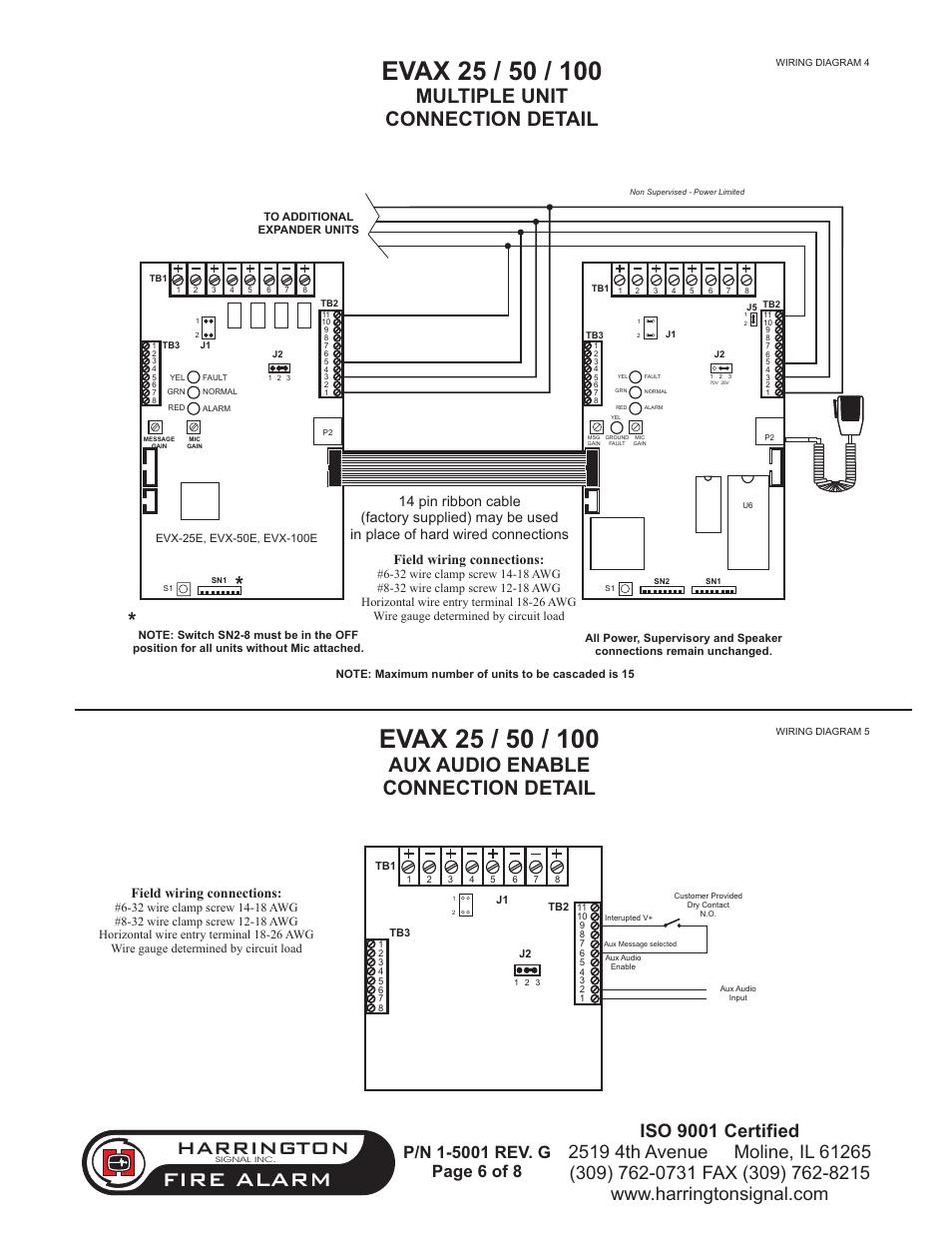 fire alarm harrington aux audio enable connection detail rh manualsdir com Aux Wire RCA to Aux