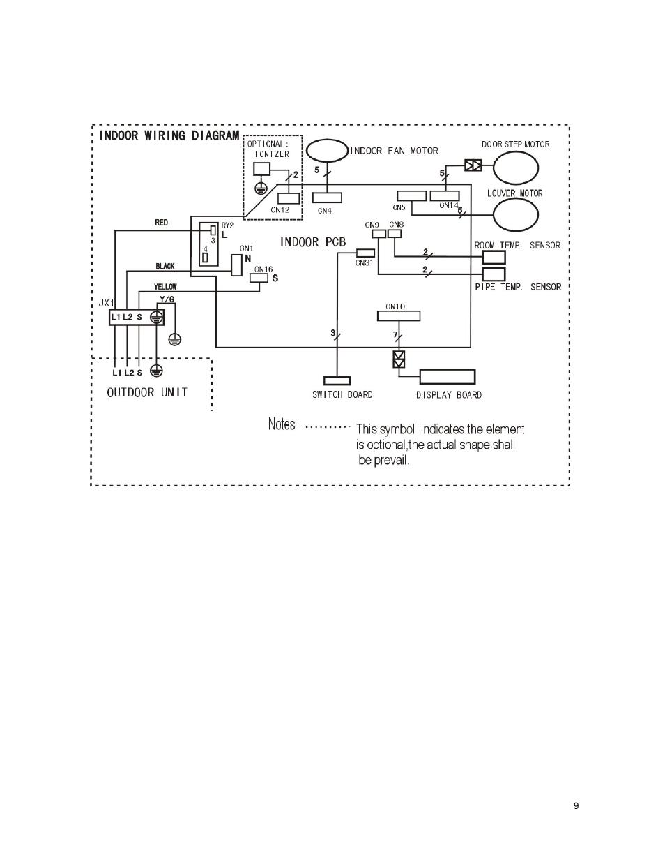 Klimaire Wiring Diagram Free For You 2970 Volkswagen 1 Indoor Unit Ksim Series Service Manual Rh Manualsdir Com Installation