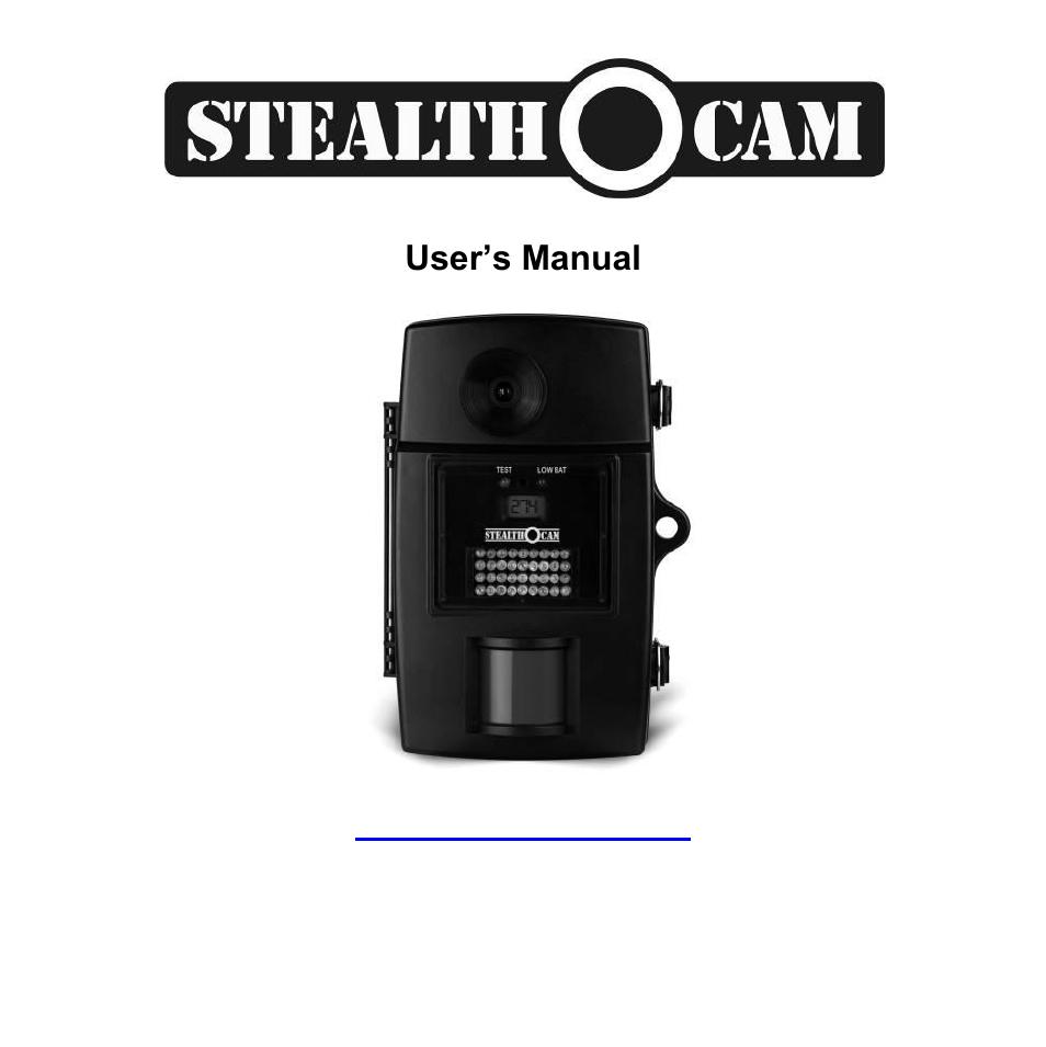 stealth cam stc i840ir rogue ir user manual 45 pages rh manualsdir com