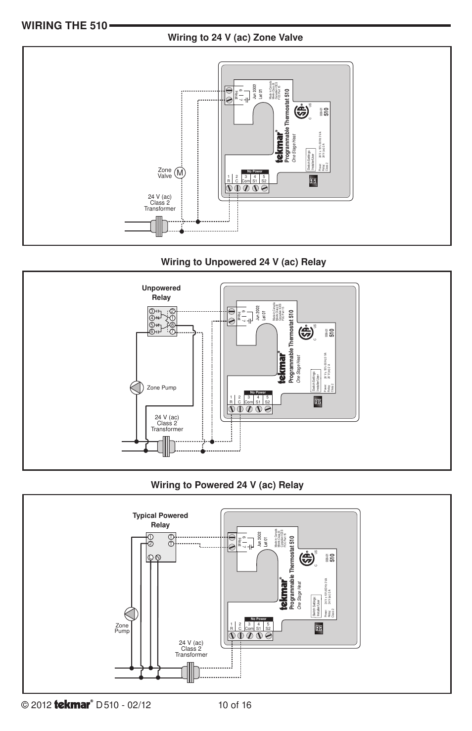 wiring the 510, wiring to powered 24 v (ac) relay ... wiring diagram 1971 honda 750 four