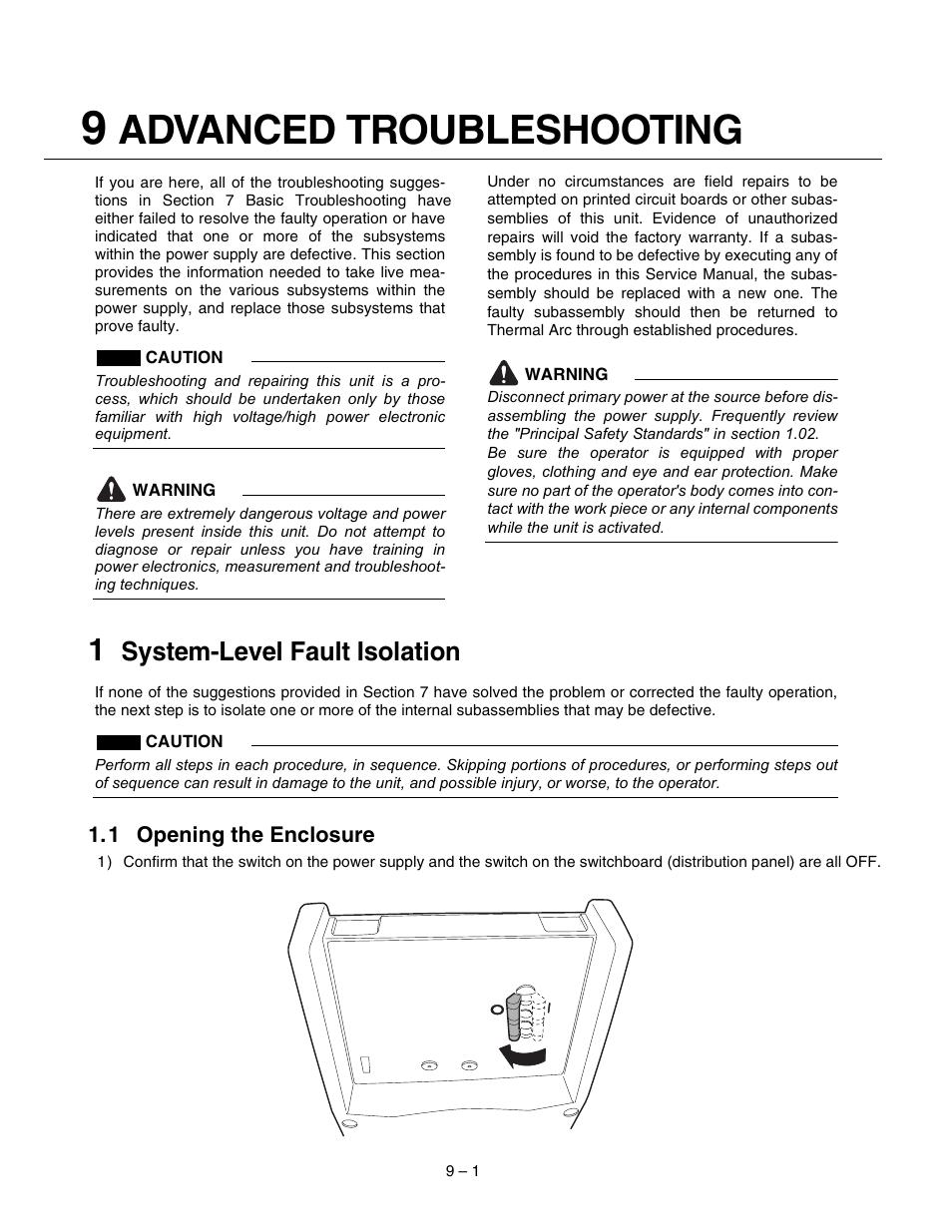 advanced troubleshooting system level fault isolation tweco 400 rh manualsdir com