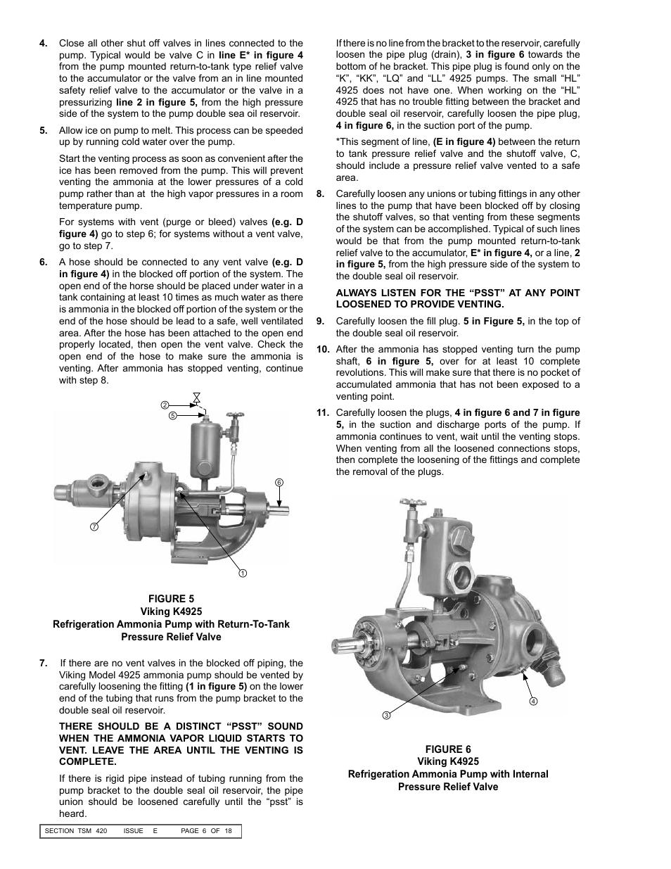 Viking oil pump manual