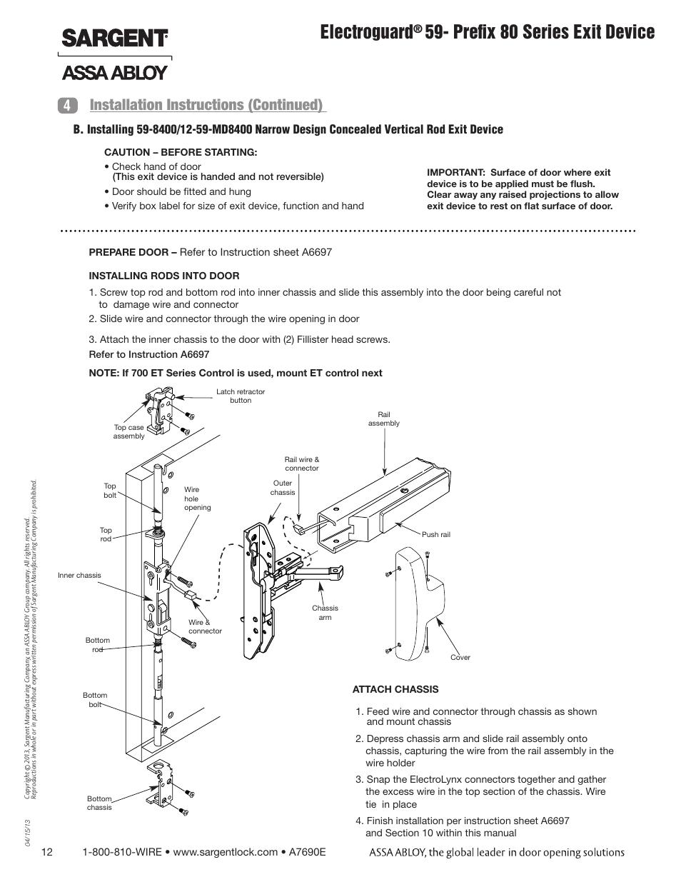 sargent door hardware parts wiring diagrams wiring. Black Bedroom Furniture Sets. Home Design Ideas