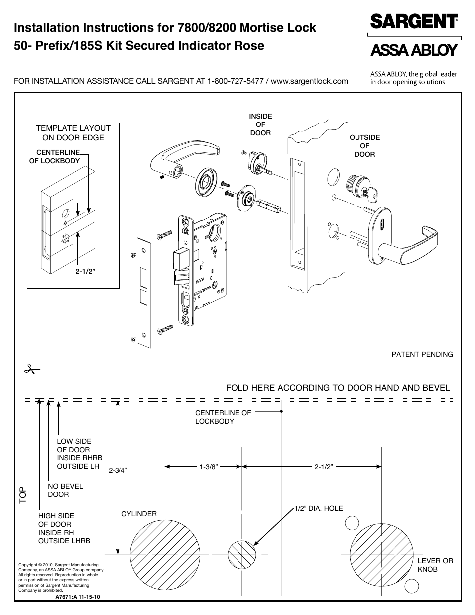 Mortise Lock Parts Diagram Manual Guide