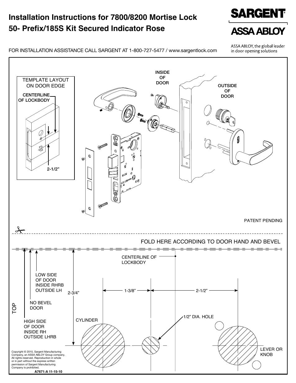 Mortise Lock Parts Diagram Manual Guide