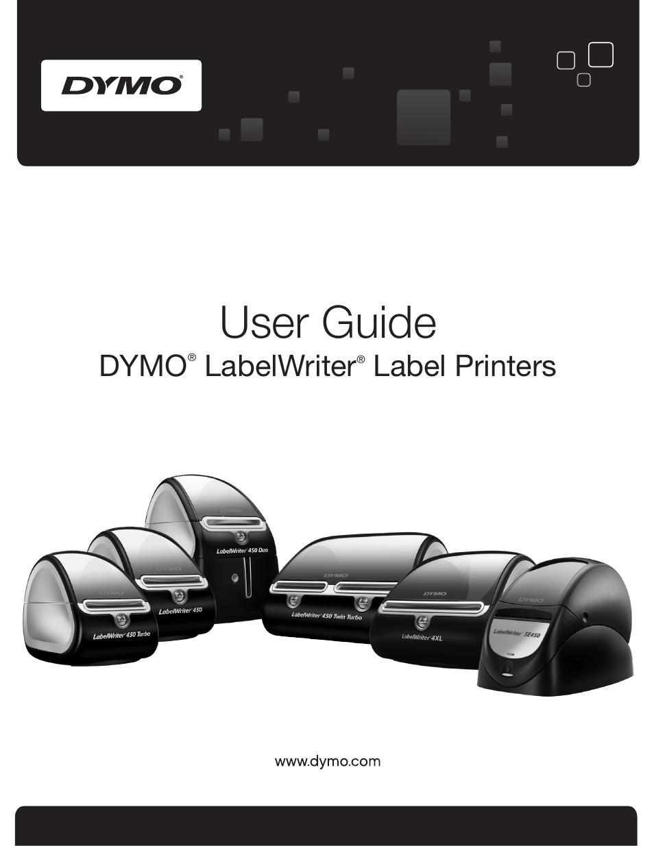 Dymo LabelWriter 450 Turbo Hardware Manual User Manual | 29 pages | Also  for: LabelWriter 450 Hardware Manual, LabelWriter 450 Duo Hardware Manual,  ...