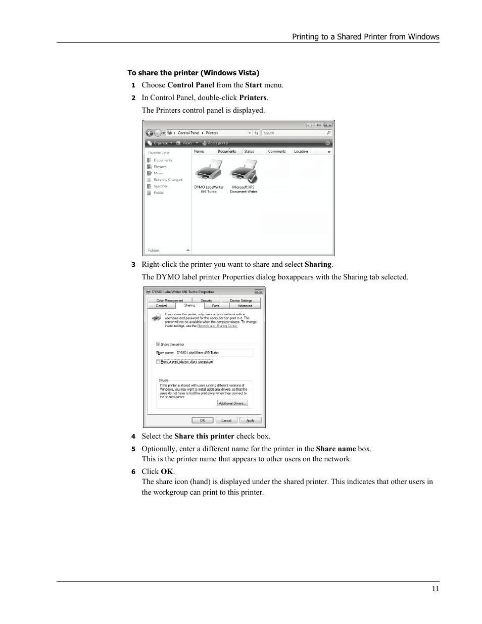 Dymo LabelWriter 450 Turbo Hardware Manual User Manual   Page 15