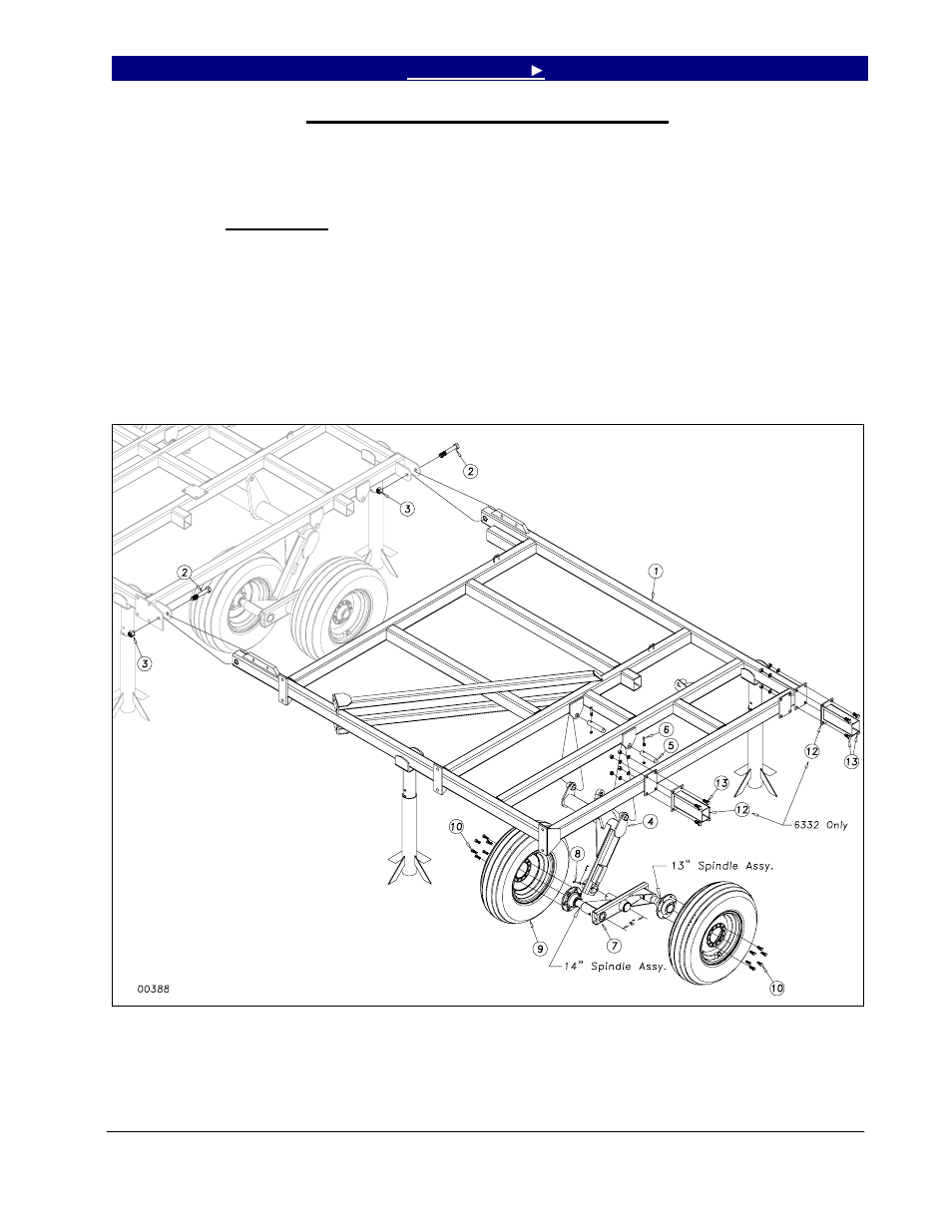 Inside wing and wheel arm assembly | Great Plains 6548 Series VII Field  Cultivator-Rigid