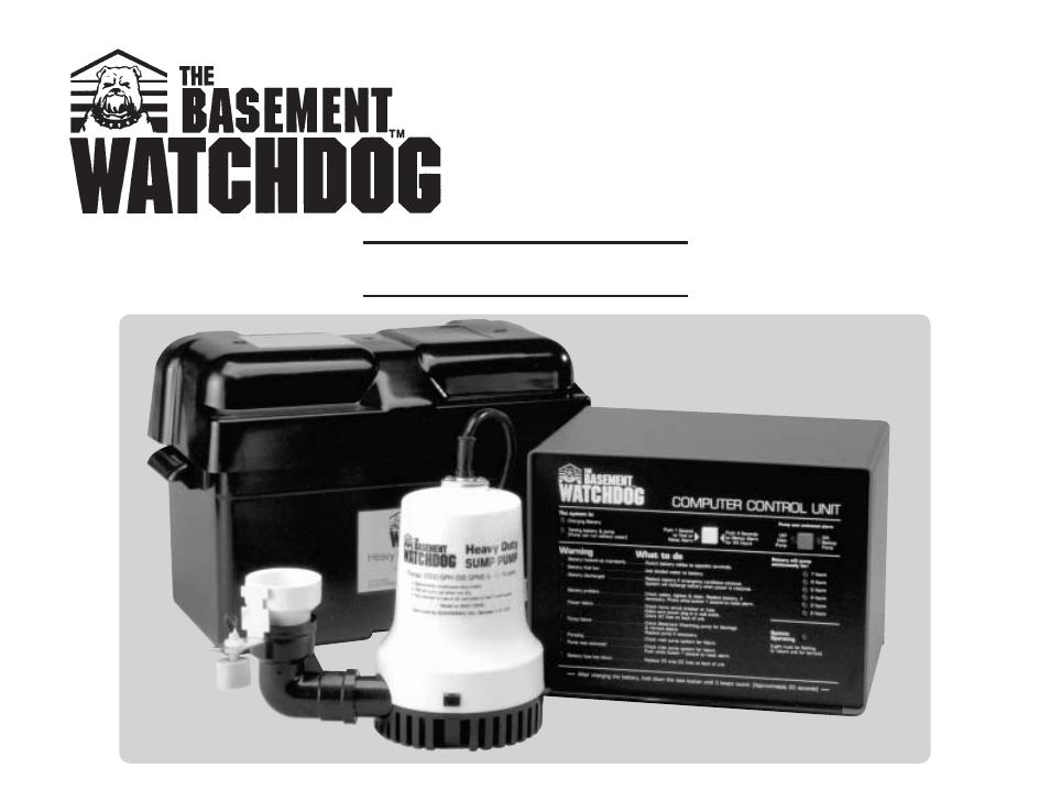 basement watchdog big dog user manual 16 pages rh manualsdir com basement watchdog big dog+ backup system basement watchdog big dog plus