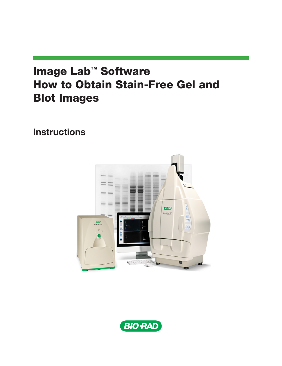 Bio rad gel doctm ez system user manual 16 pages also for Gel documentation system bio rad price