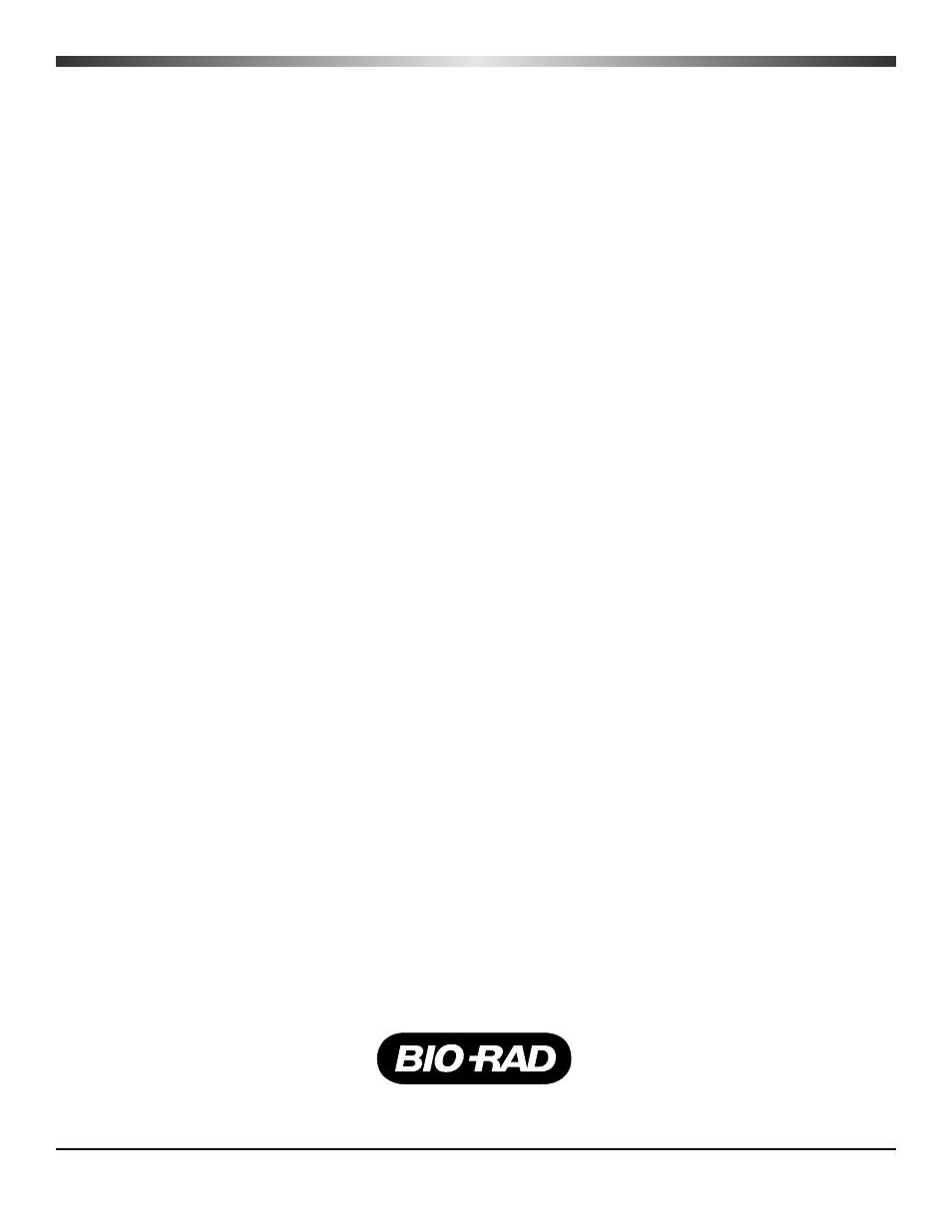 Bio Rad Mini Protean Tetra Handcast Systems User Manual 10 Pages