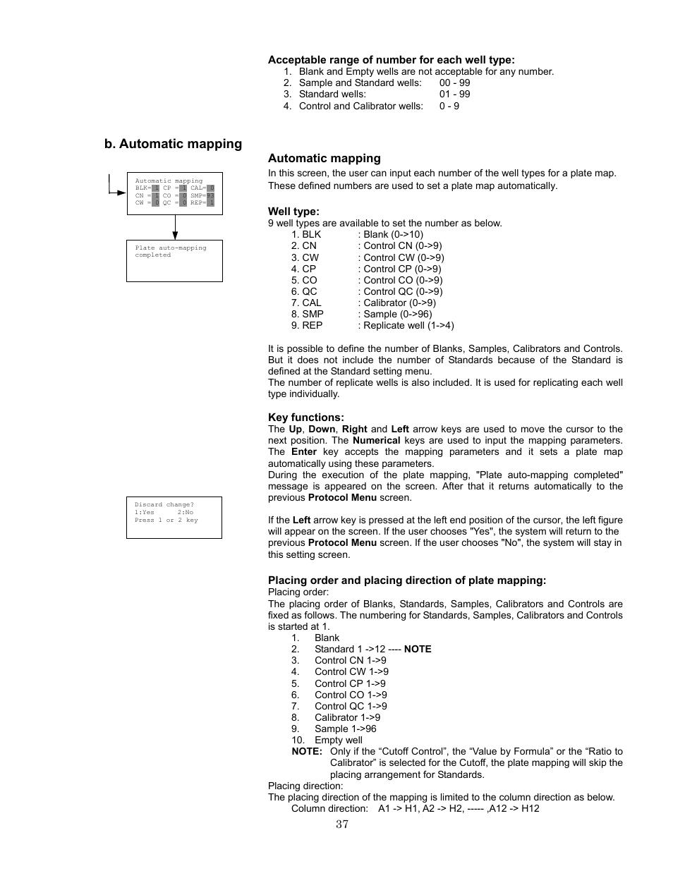 b automatic mapping bio rad model 680 microplate reader rh manualsdir com Operators Manual Instruction Manual Example