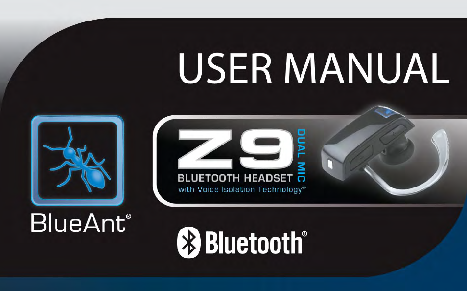 blueant z9 bluetooth headset user manual 137 pages rh manualsdir com BlueAnt Bluetooth Headset BlueAnt Headset