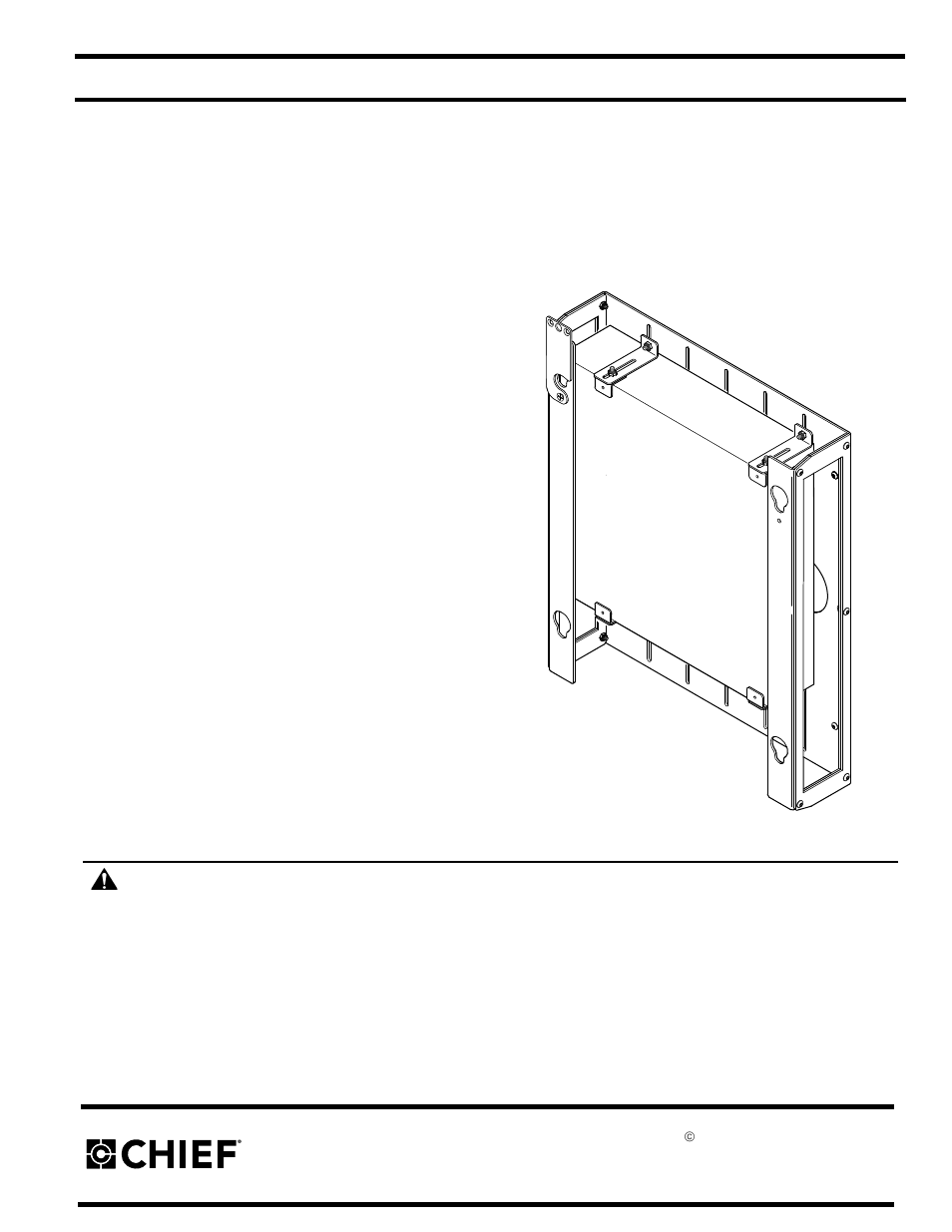 chief manufacturing pac 251 user manual 6 pages rh manualsdir com Manual Manufacturing Process Manufacturing by Hand