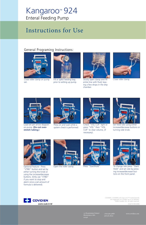 covidien kangaroo epump service manual