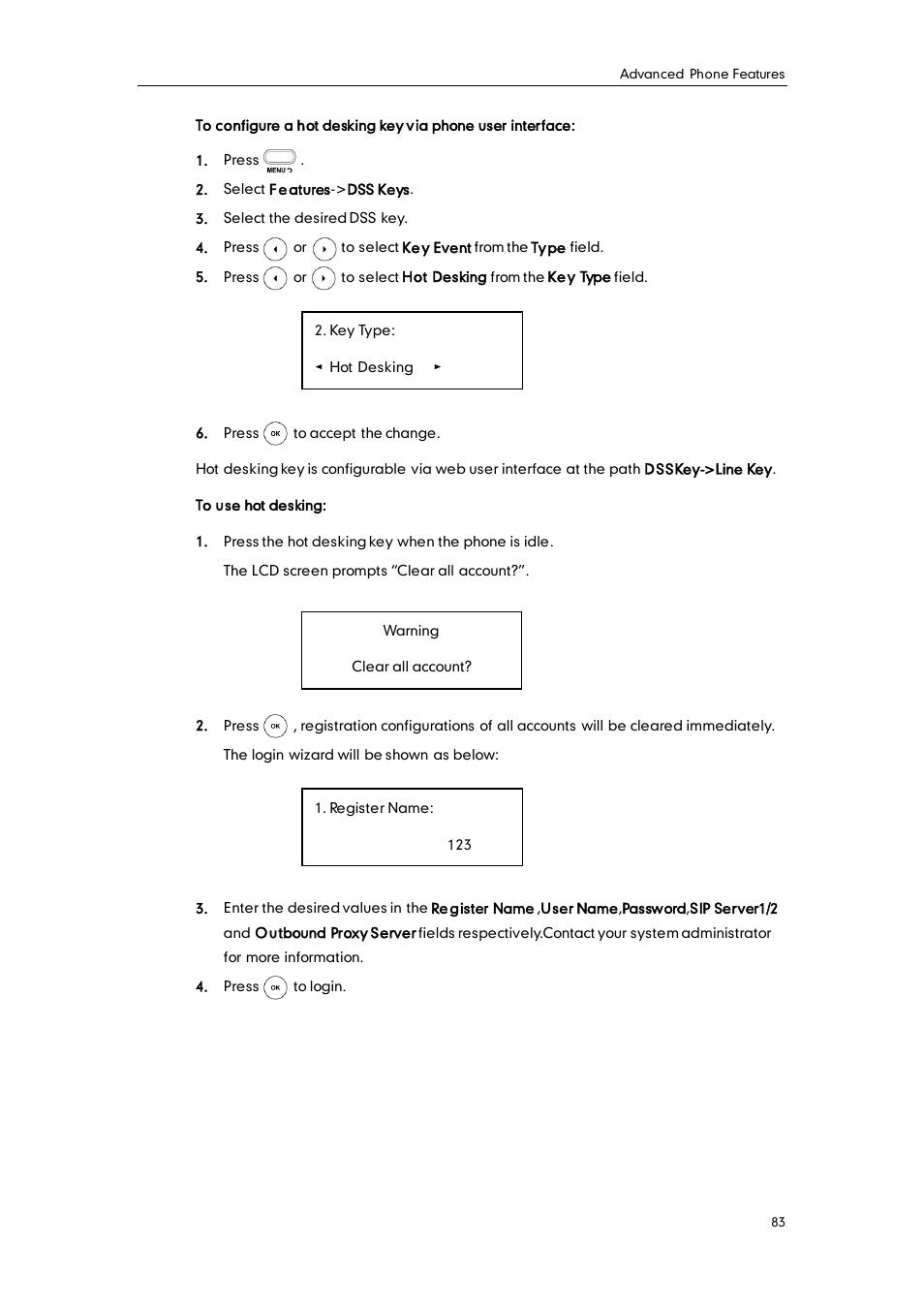 Yealink SIP-T20 User Manual   Page 95 / 126   Original mode   Also