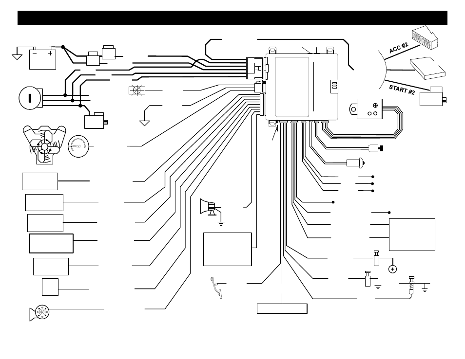 black widow car alarm wiring diagram 2001 toyota camry