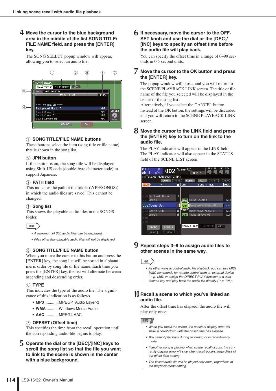 Yamaha LS9 User Manual   Page 114 / 290   Original mode