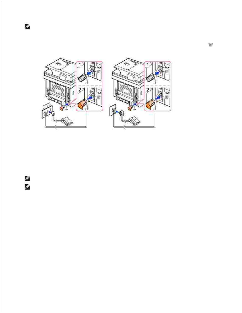 connecting the printer cable dell 2335dn user manual page 20 284 rh manualsdir com dell 2335dn service manual download