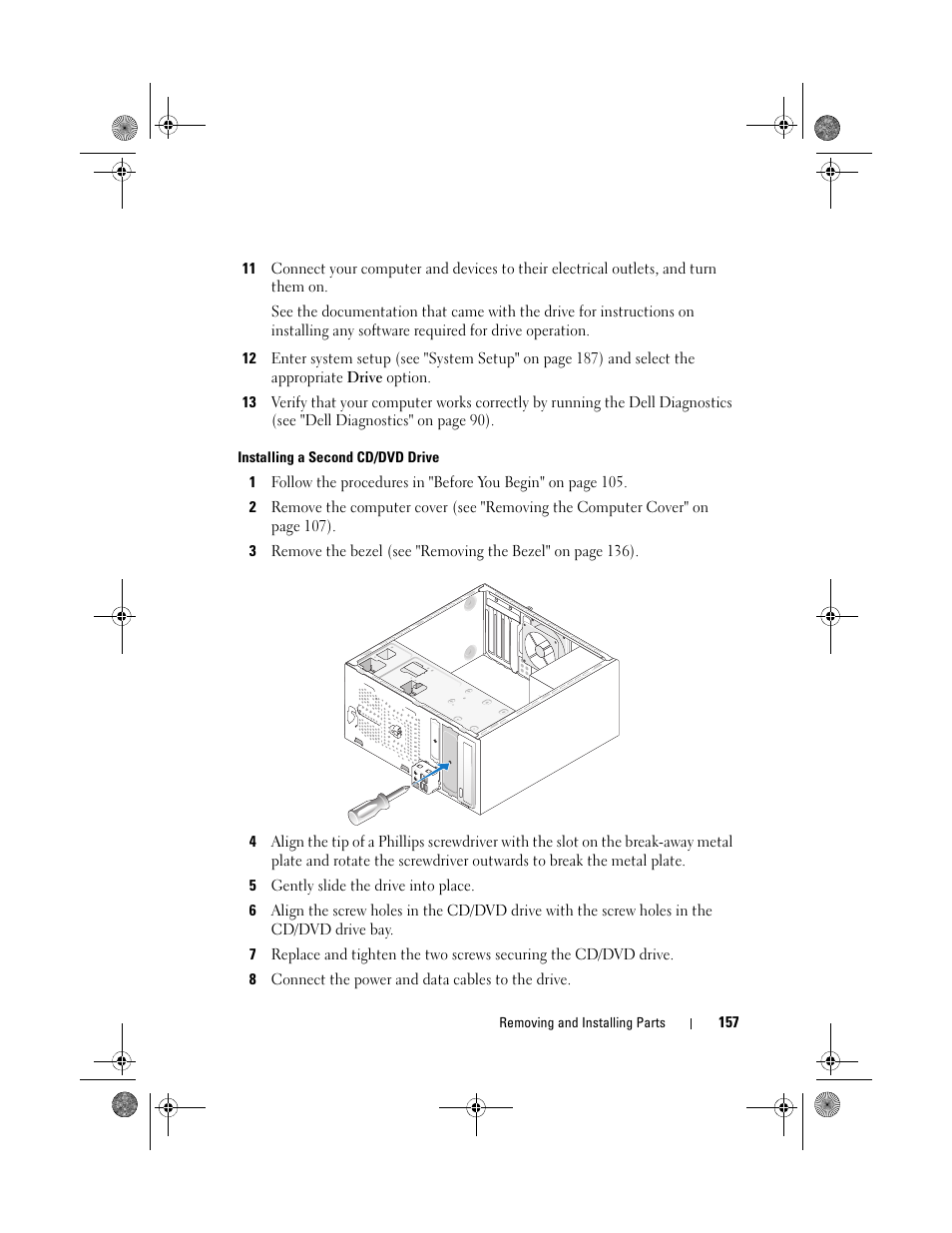 Dell Inspiron 530 Diagram Trusted Schematics Wiring Installing A Second Cd Dvd Drive User Manual 6400