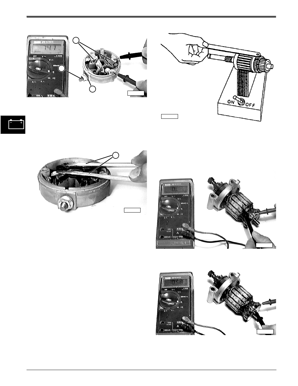Repair starter armature | John Deere stx38 User Manual | Page 162 / 314