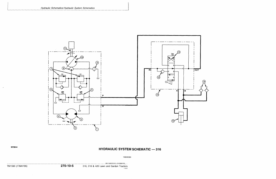 John Deere 318 User Manual   Page 404 / 440   Also for: 316, 420 on