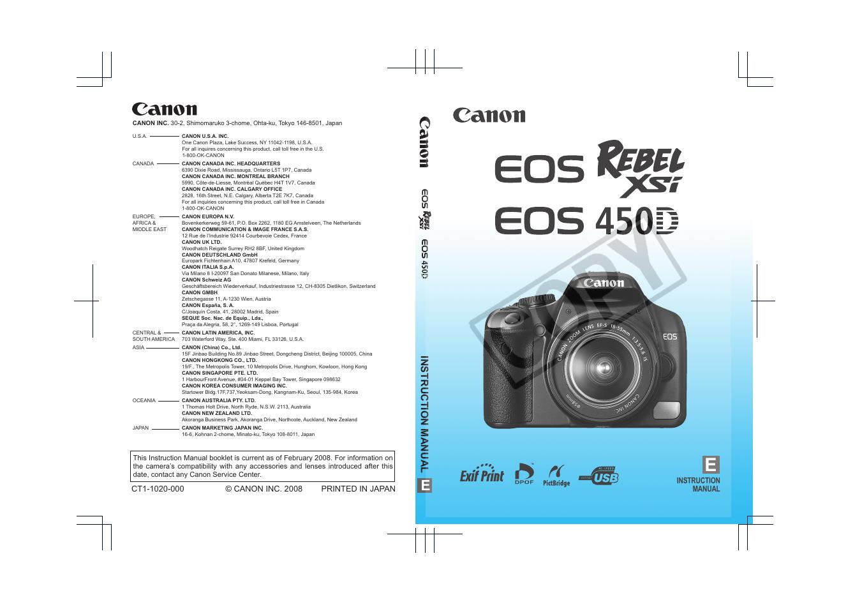 canon 450d user manual