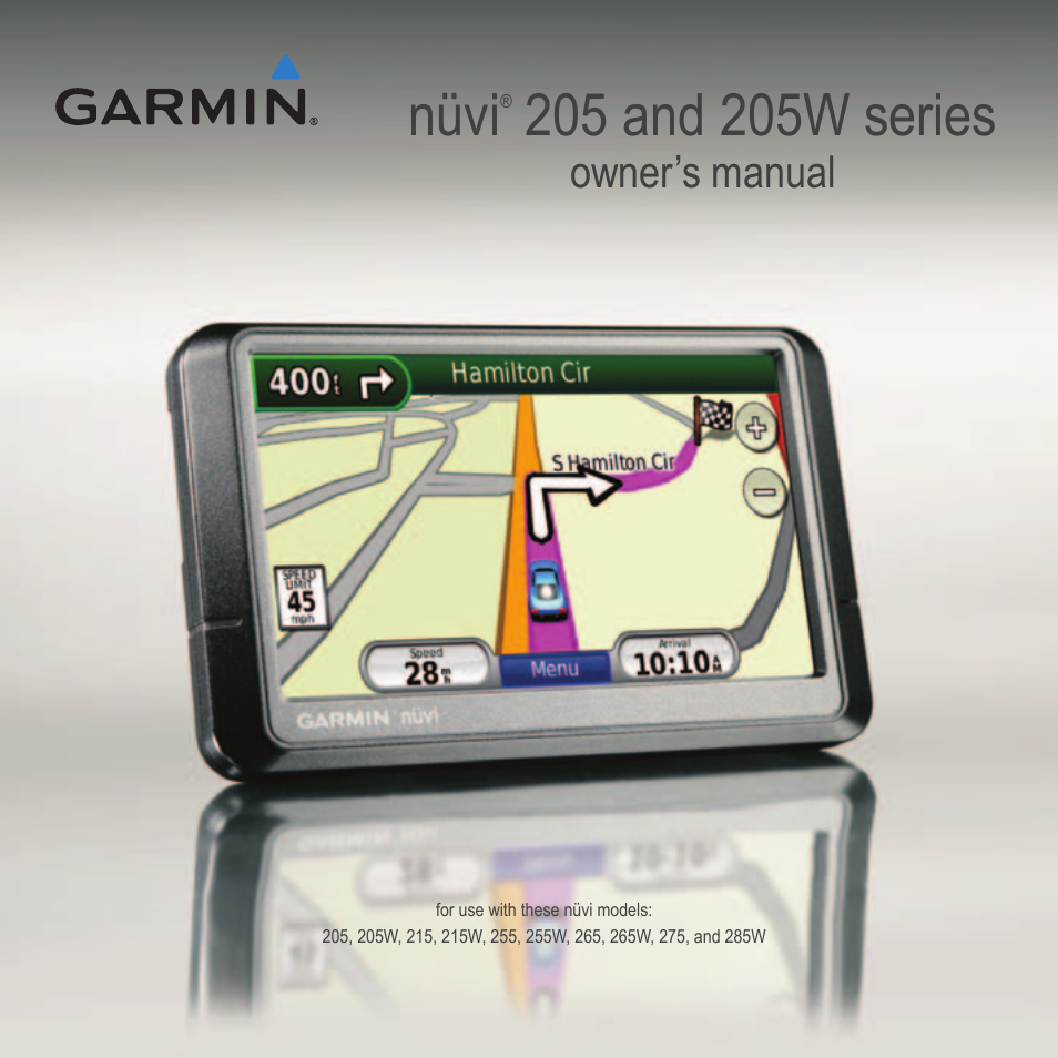 garmin manuals nuvi 57 58